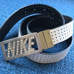 Nike Bling Belt Reversable Black or White